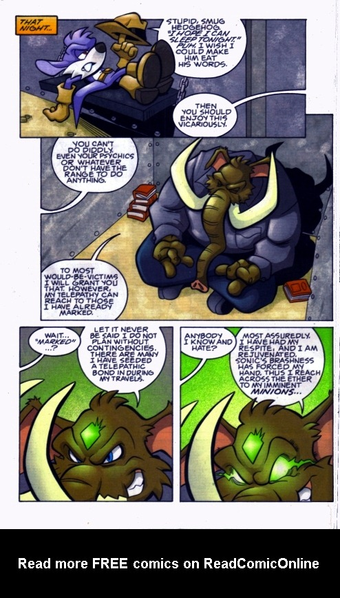Read online Sonic The Hedgehog comic -  Issue #185 - 9