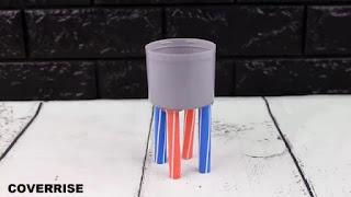 membuat sendiri corong pembagi minuman