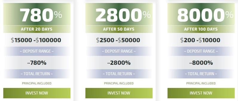 Инвестиционные планы Legiry 2