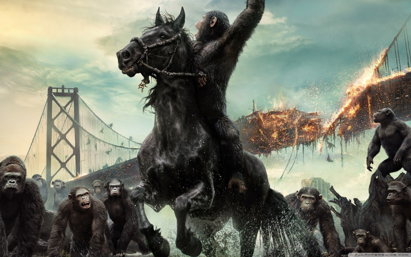 """Dawn of the Planet of the Apes"" Off And Running With $4 ... 