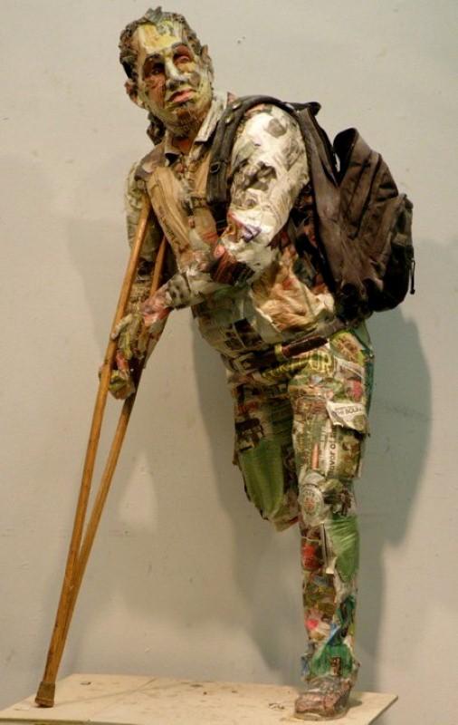 Скульптуры из мусора Уилла Курца 9