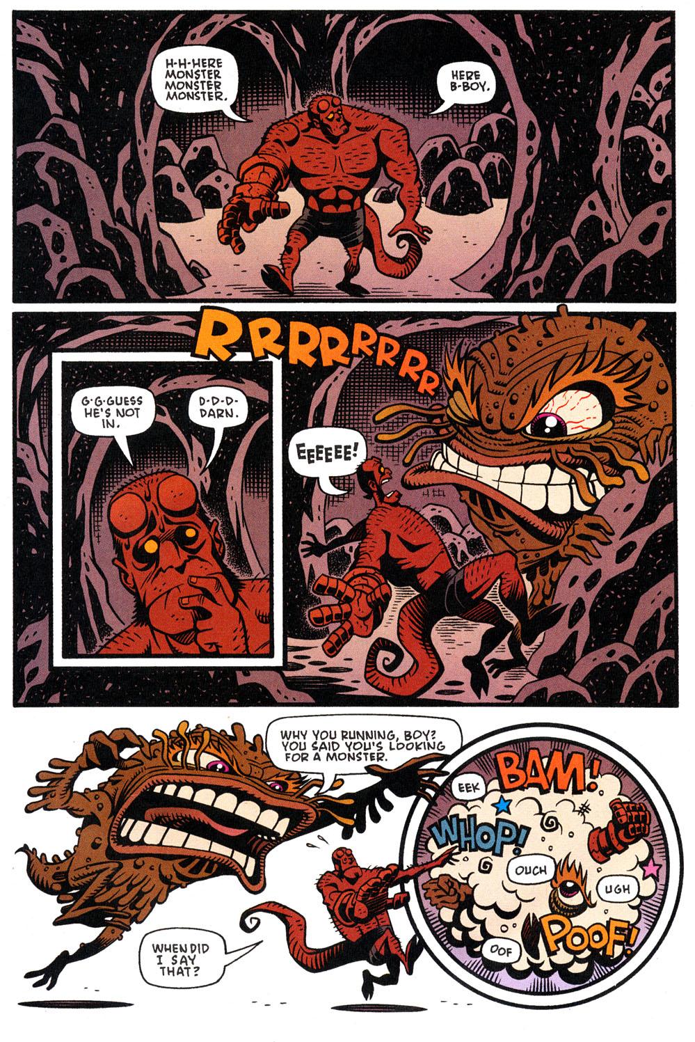 Read online Hellboy: Weird Tales comic -  Issue #4 - 15