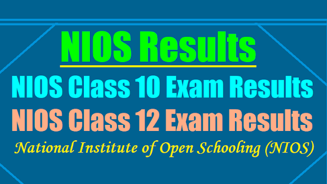 nios results 2018,nios class 10 exams class 12 exams results 2018,nios class 10 result 2018,nios class 12 result 2018,nios.ac.in results,nios10th class results,nios inter result 2018,nios class 10 & class 12 october exams results 2018
