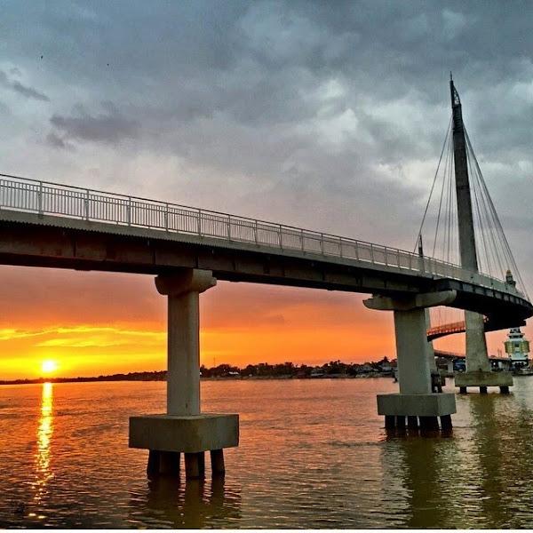 Gentala Arasy Bridge is a New Icon for tour in Jambi