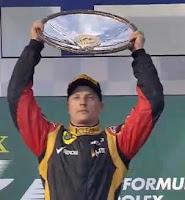 F1 - Kimi Raikkonen Wins Australian GP 2013