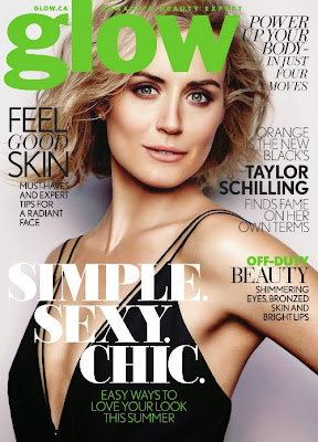 Orange's Taylor Schilling Is A Glow Girl