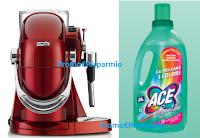 Logo ACE : vinci macchina da caffè con montalatte Caffinity con 5 confezioni di capsule! Anticipazione