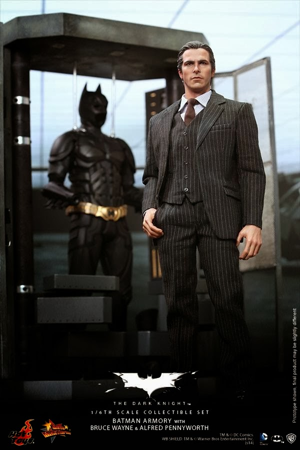 film trilogie hot toys batman