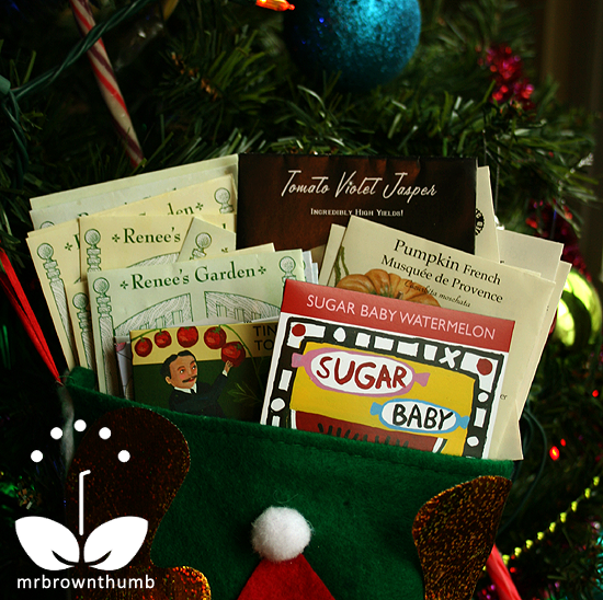 Heirloom Seeds as Stocking Stuffers