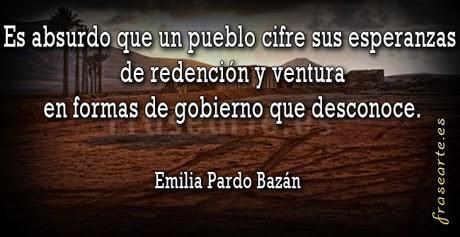 Frases célebres de Emilia Pardo Bazán