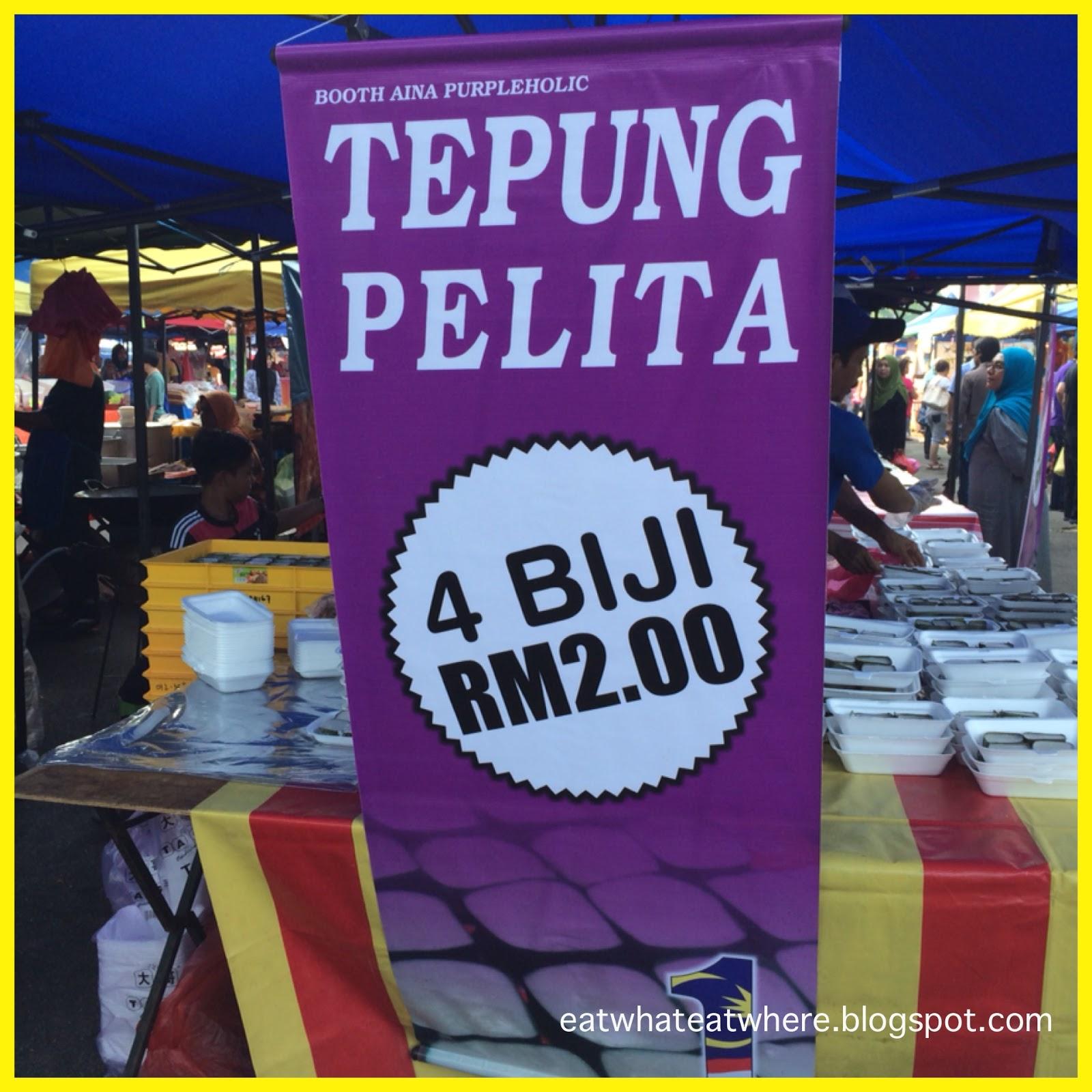 Eat What Eat Where Just One Food Tepung Pelita
