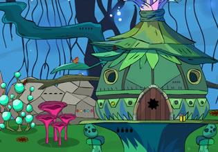 GenieFunGames Dreamy Hut Escape