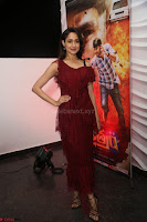 Pragya Jaiswal in Stunnign Deep neck Designer Maroon Dress at Nakshatram music launch ~ CelebesNext Celebrities Galleries 037.JPG