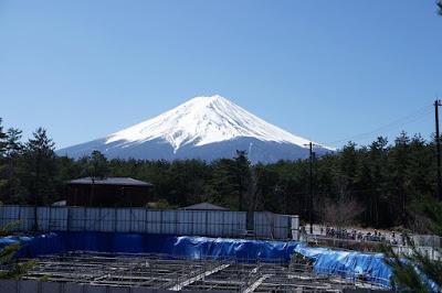 Observation Deck for Fujisan Heritage Site in Japan
