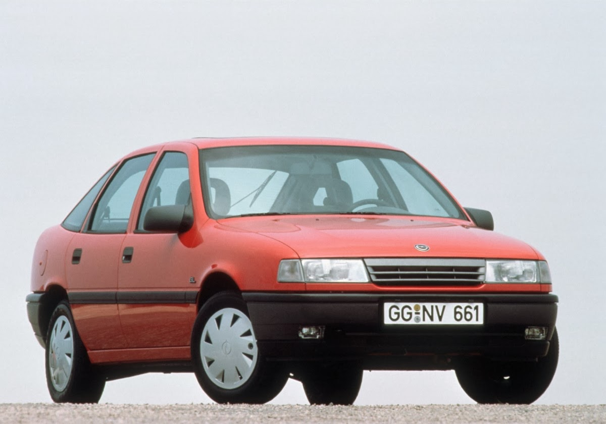 Auto Channel New 25 Years Ago The First Opel Vectra Modernized