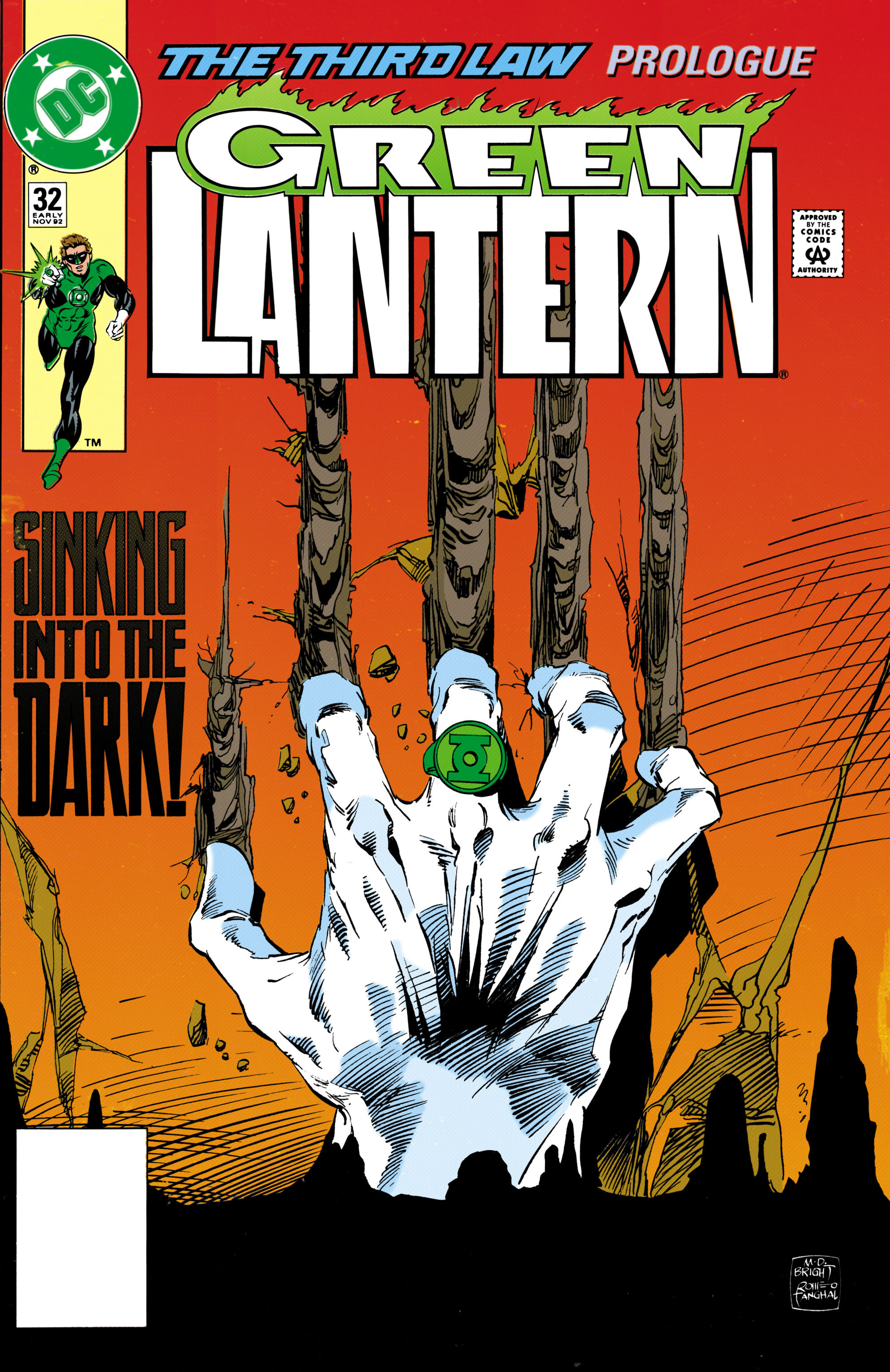 Green Lantern (1990) 32 Page 1