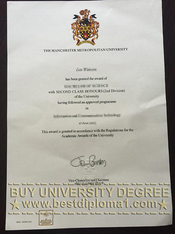 Buy MMU diploma