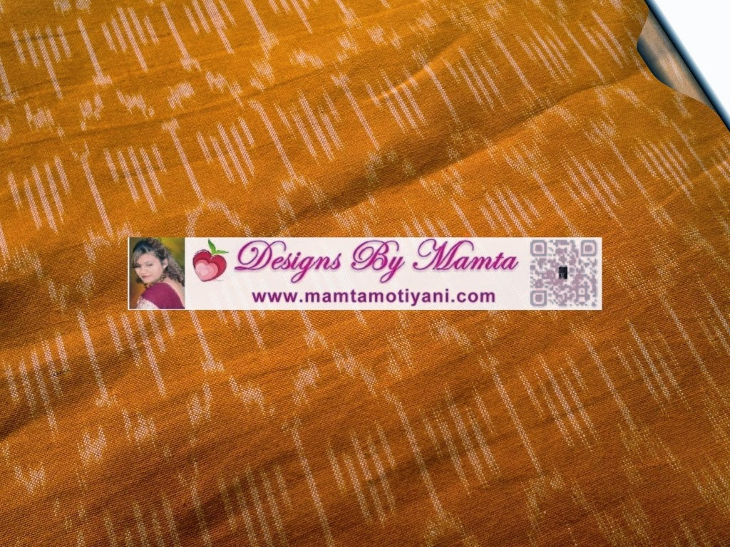 Yellow Ikat Fabric