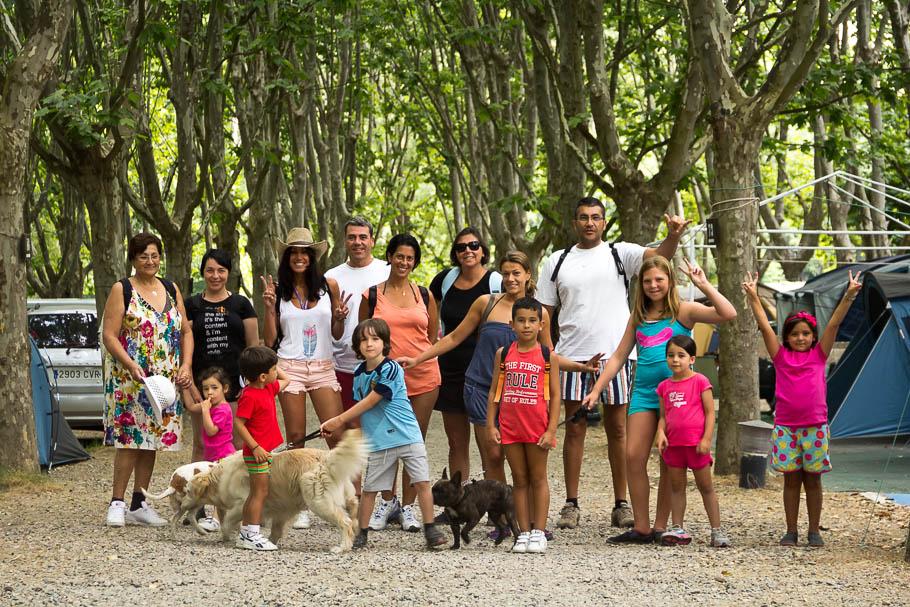 'Mi familia en Jerte', Carlos Larios
