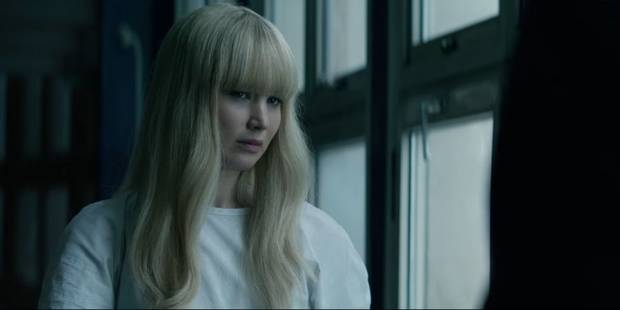 Dominika Egorova (Jennifer Lawrence) dans Red Sparrow