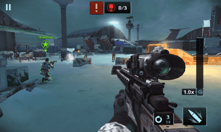 Sniper fury top shooting game fps mod apk