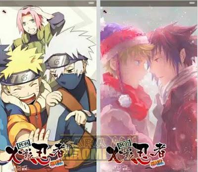 Kumpulan Tema Naruto For Xiaomi MIUI