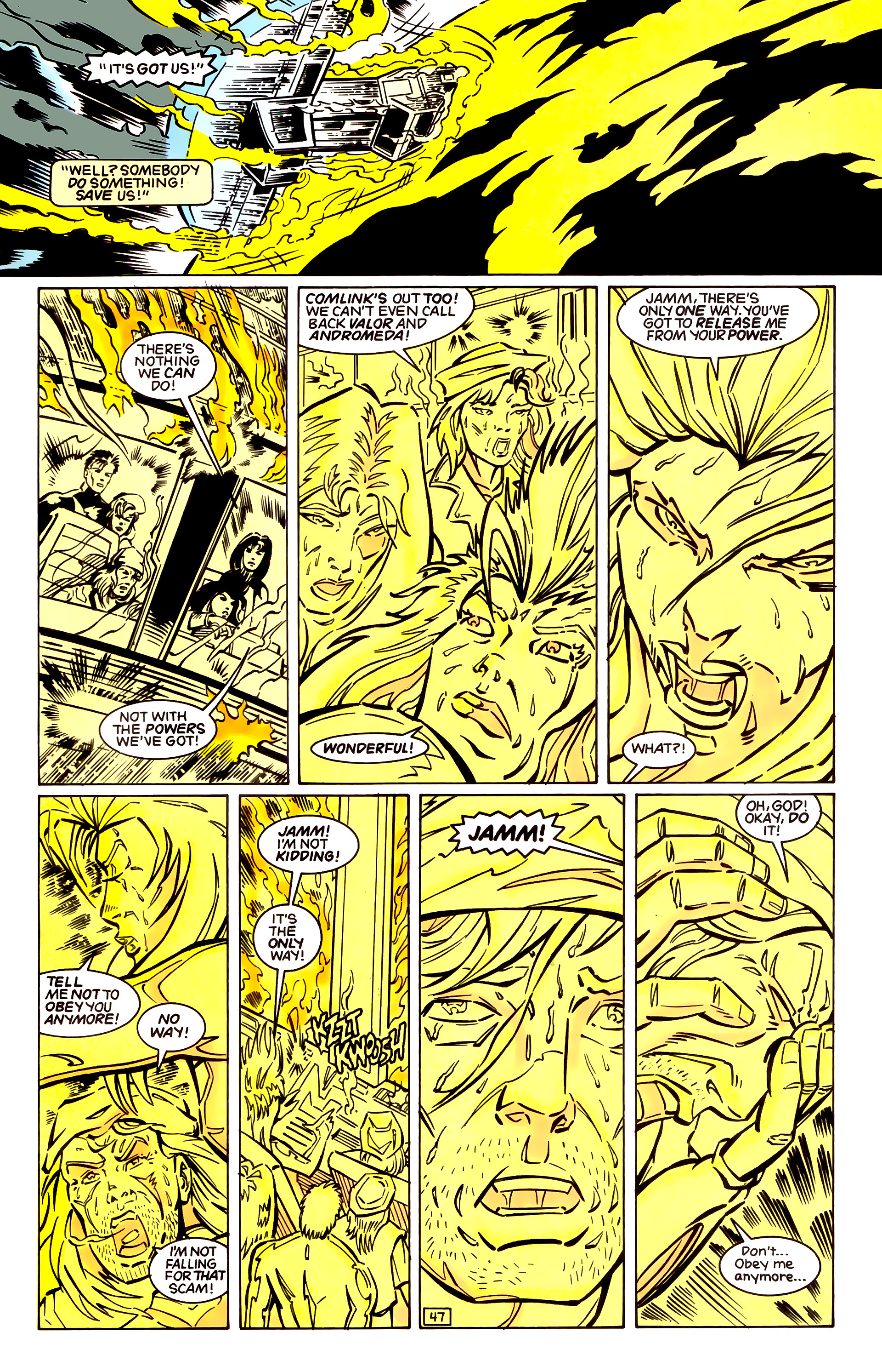 Legion of Super-Heroes (1989) _Annual_4 Page 47