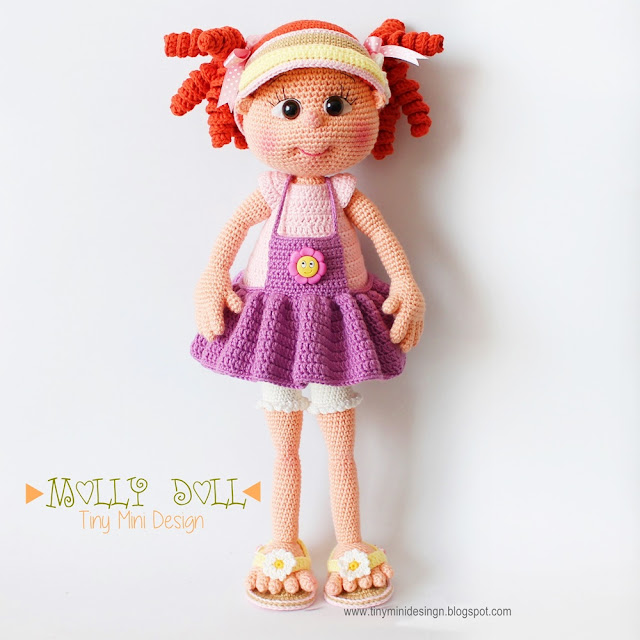 Amigurumi Molly Doll