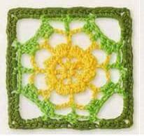 Patrón #1243: Granny a Crochet