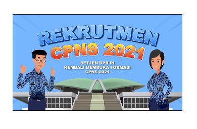 CPNS SETJEN DPR 2021