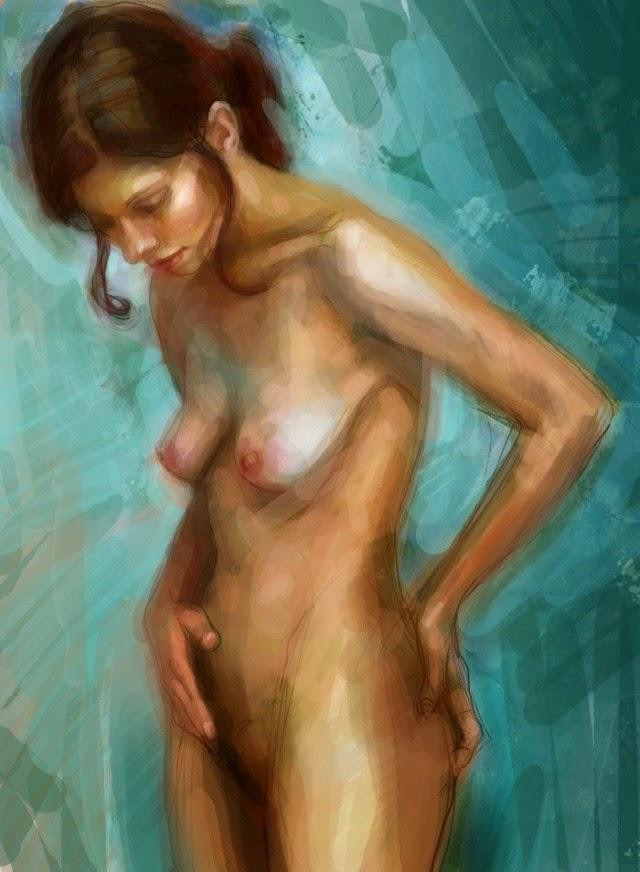 Цифровая живопись. Bastien Millan