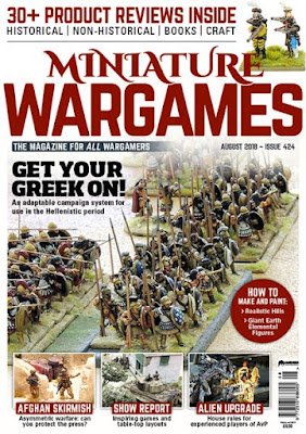 Miniature Wargames 424, August 2018