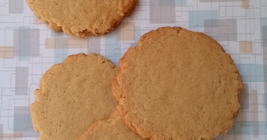 "(Peanut Free) School safe ""Peanut Butter"" Cookies (Soynut Butter Cookies!)"