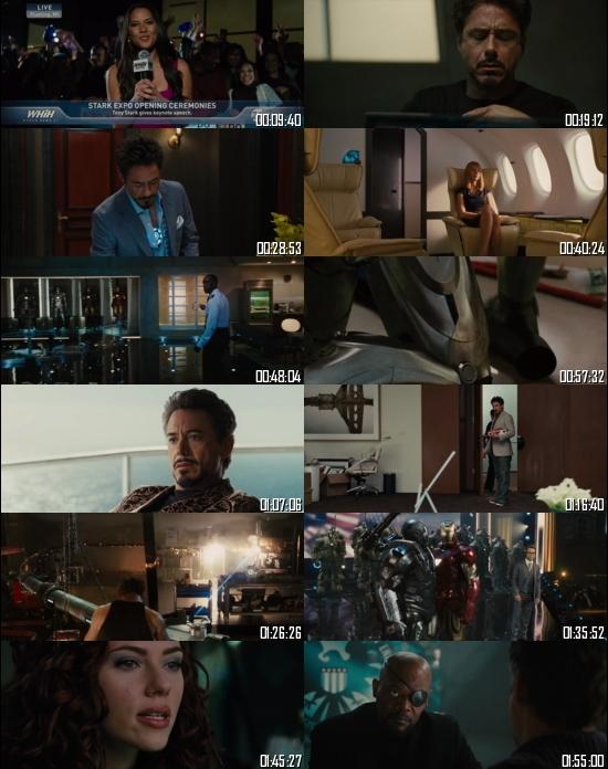 Iron Man 2 (2010) BRRip 720p 480p Dual Audio Hindi English Full Movie Download