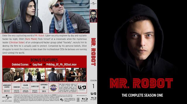 Mr Robot Season 1 Bluray Cover