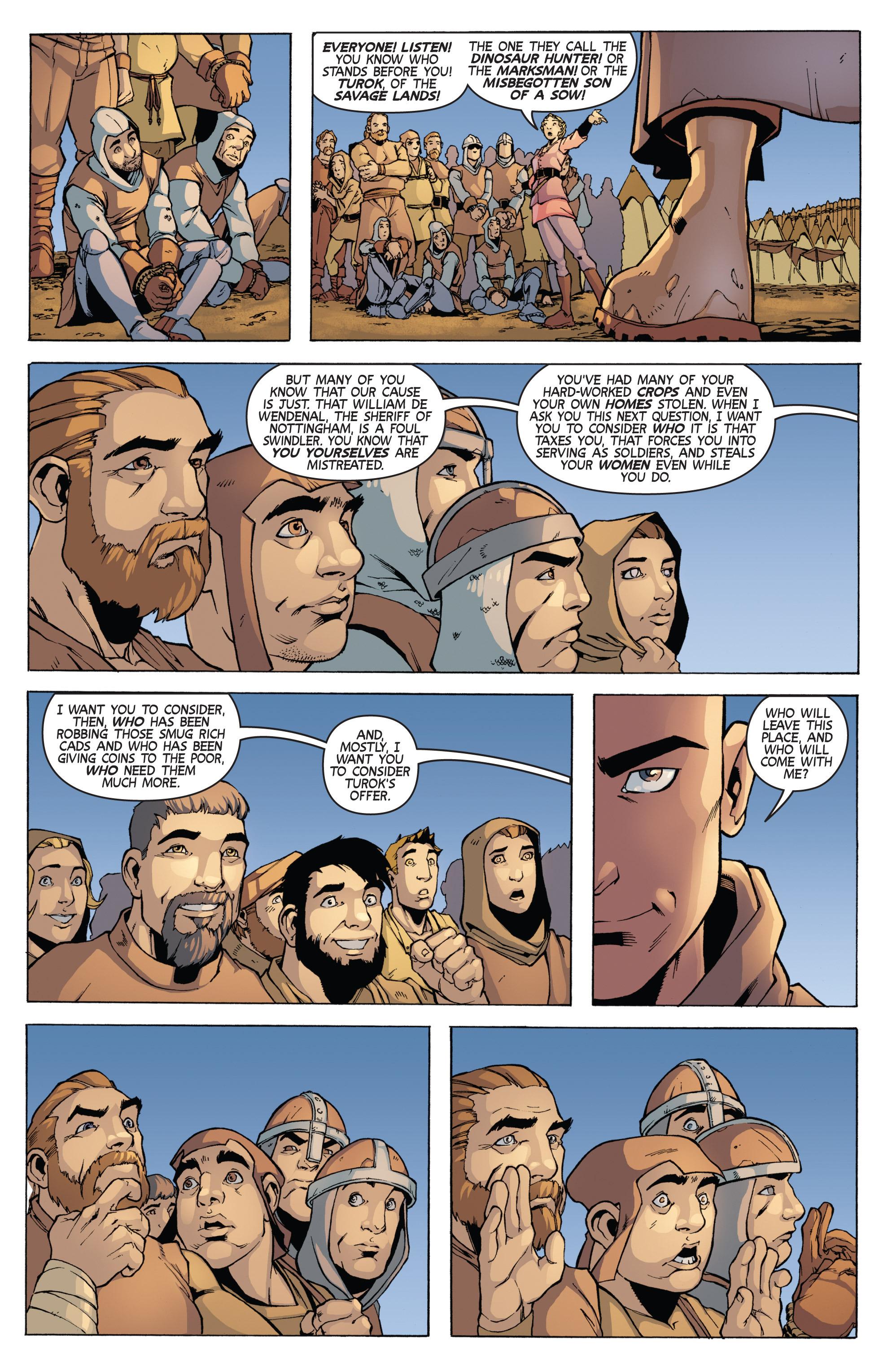 Read online Turok: Dinosaur Hunter (2014) comic -  Issue # _TPB 3 - 58
