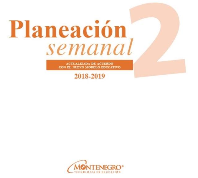 Planeación trimestral anual segundo grado nuevo modelo educativo
