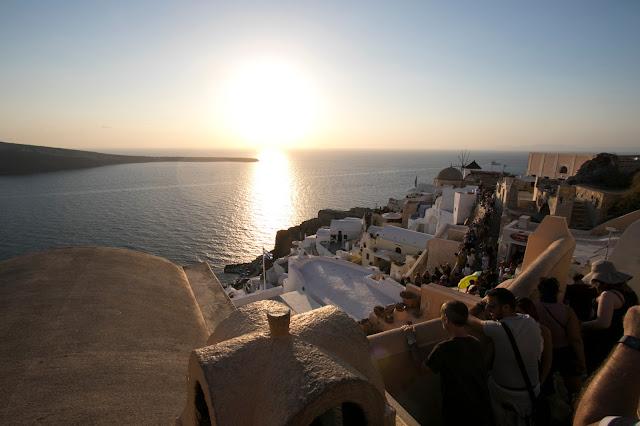 Tramonto ad Oia-Santorini