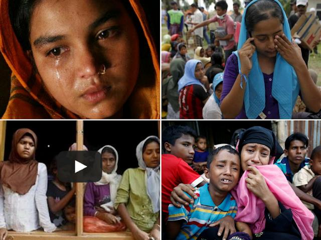 Ini Pengakuan Wanita Muslim Rohingya yang Diperk*sa Militer Myanmar