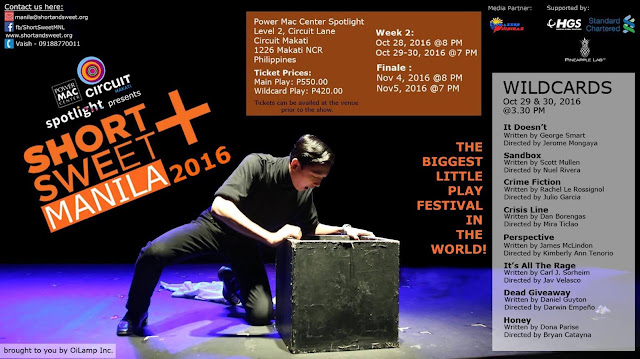 Short+Sweet Festival of 10-Minute Plays Now on its 2nd Week