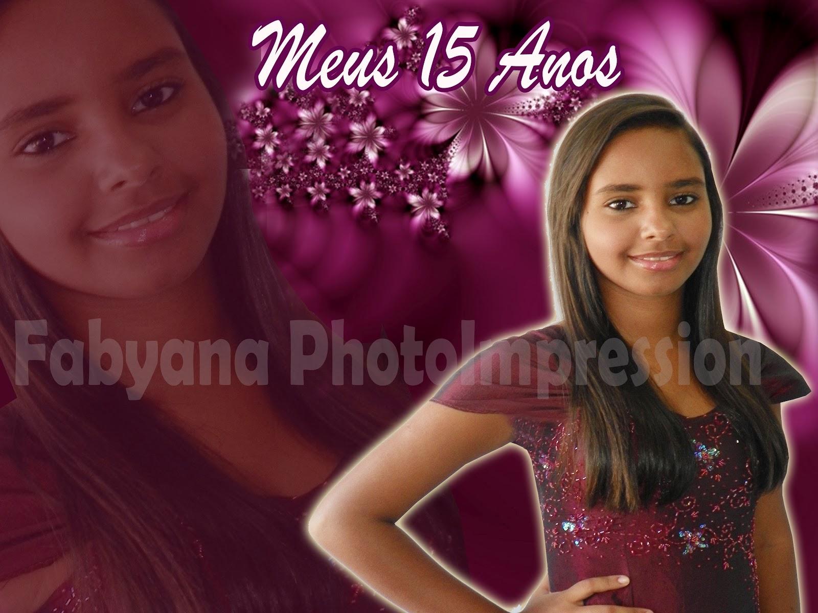 Fabiana Photo Impression Modelos De Banners De 15 Anos Meu