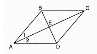 X why june 2016 geometry regents common core parts 3 and 4 given quadrilateral abcd with diagonals ac and bd that bisect each other and 2 ccuart Images