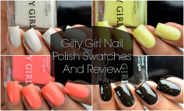 Gilty Girl Swatches