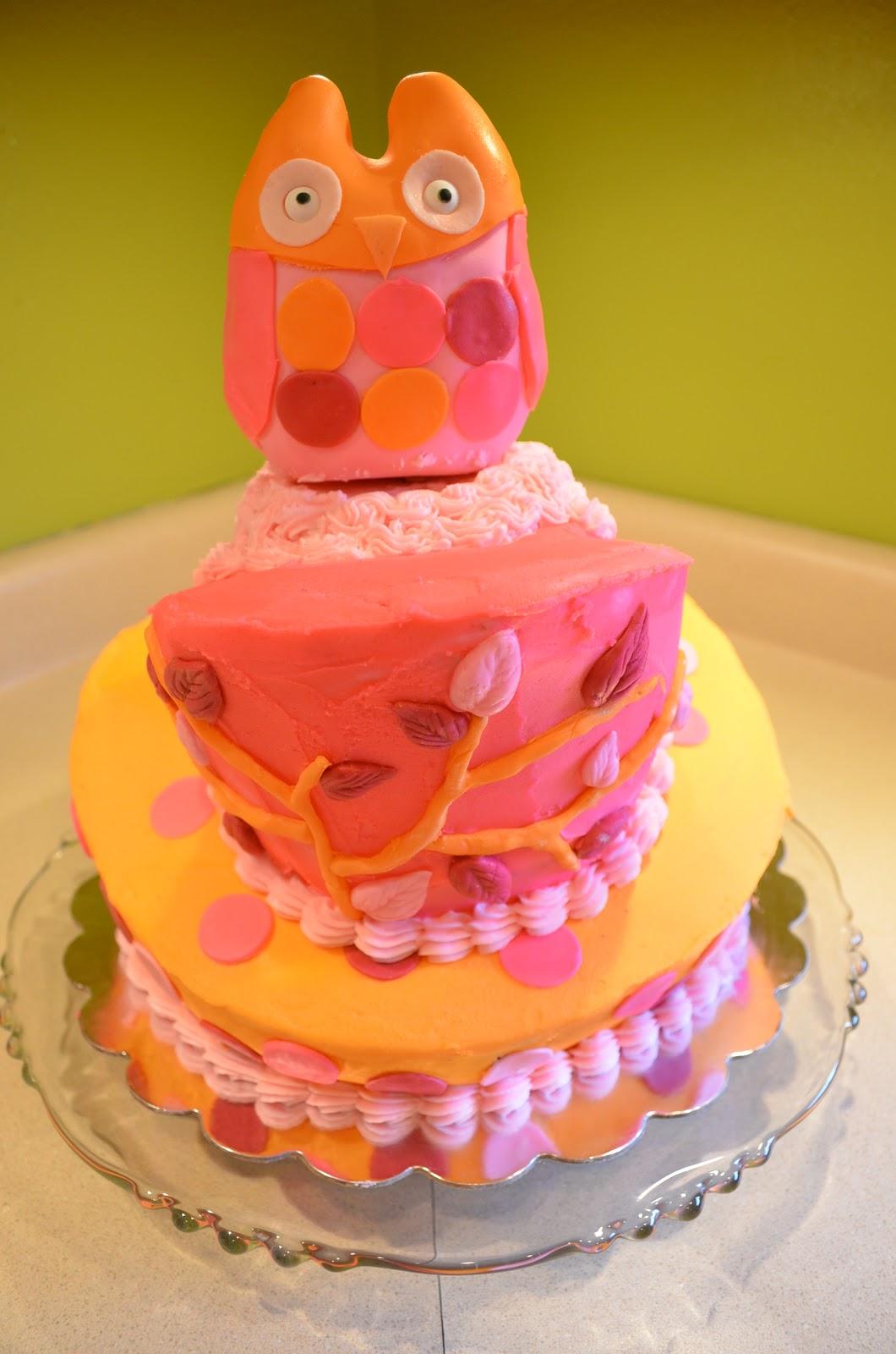 Cake Mama Callie S Owl Stravaganza