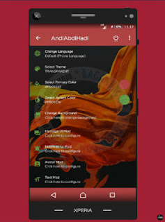 Download BBM Mod A BBM Style Theme versi 3.3.1.24 revision Apk terbaru For Android Update Unclone