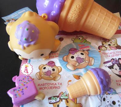 Игрушки антистресс Смузи Музи сезон 3 мороженое