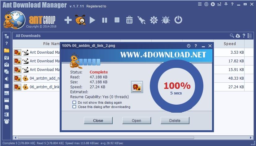 Ant Download Manager Pro v1.13.3.60305 Full version