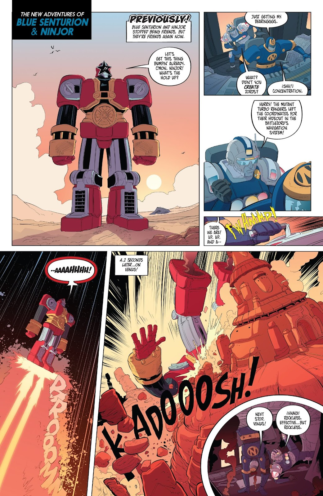 Read online Mighty Morphin Power Rangers comic -  Issue #33 - 20