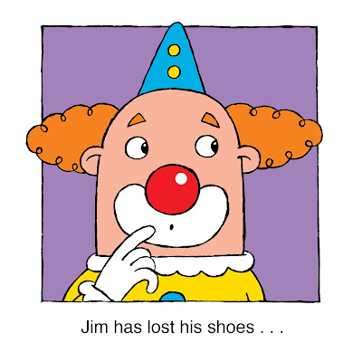 Jim has lost his shoes . . .