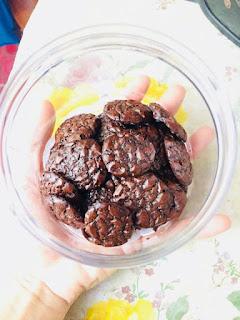 Resepi Brownies Cookies Viral